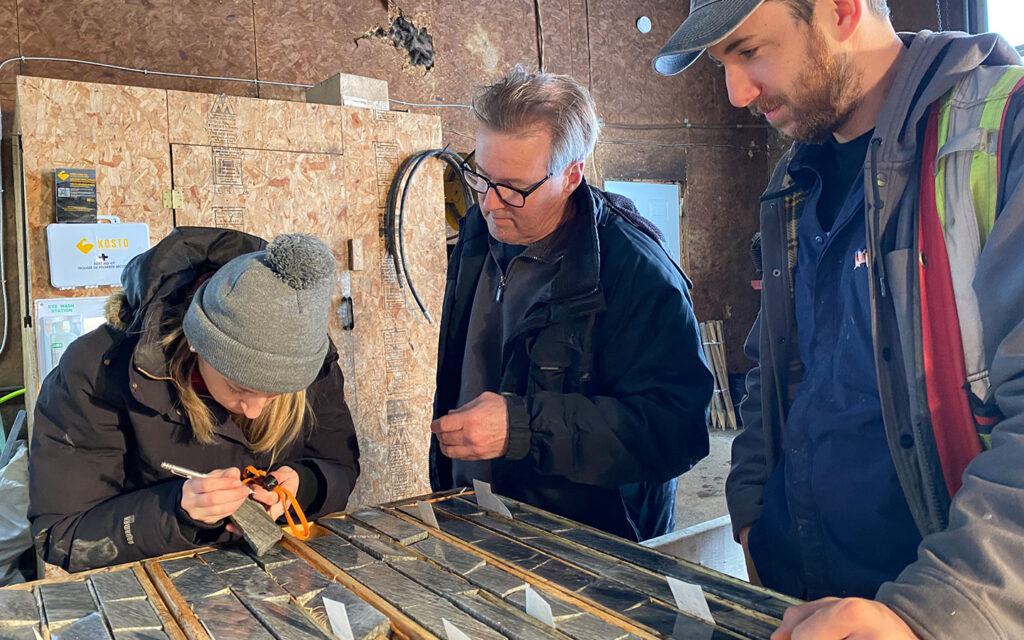 E2Gold Drills 18.2 G/T Gold Over 1.0 M Within 5.0 M Of 4.91 G/T Gold, 600 Metres West Of Previous High-Grade Results At Hawkins