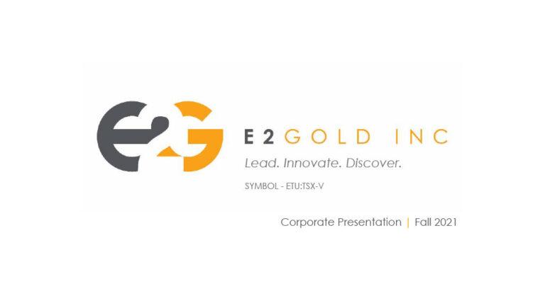 E2Gold Presentation - Fall 2021