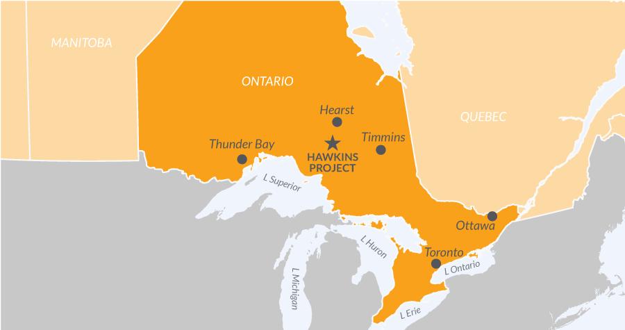 Hawkins Project Map